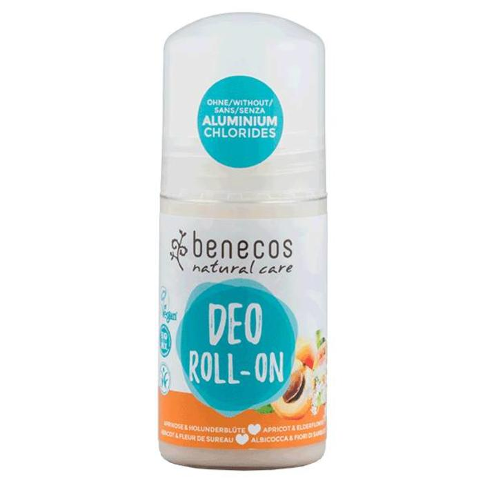 Benecos Natural Deo-Roll-On Apricot - Elderflower