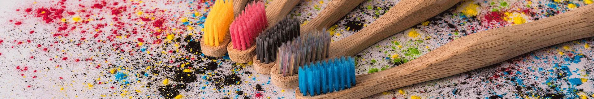 Nordics bamboe tandenborstels plastic vrij
