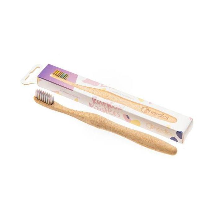 Nordics Bamboe Toothbrush Rainbow