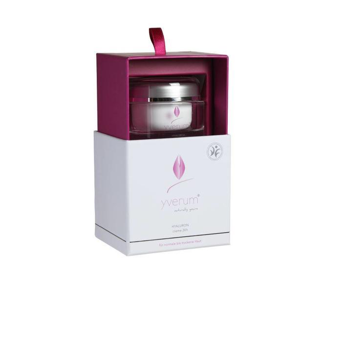 YVERUM HYALURON creme 24h 50 ml  - VEGAN