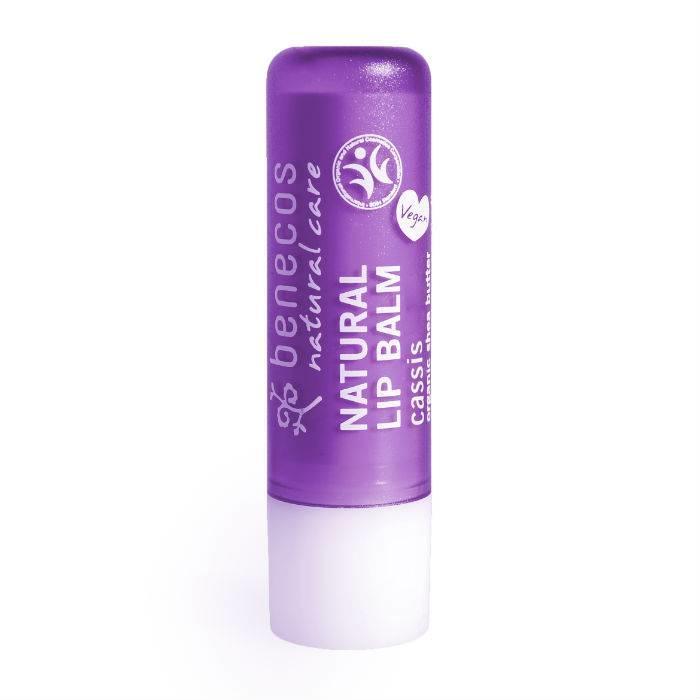 Benecos Natural Vegan Lipbalm - Cassis 4,8