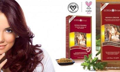 Surya Brasil henna haarverf gebruiksaanwijzing