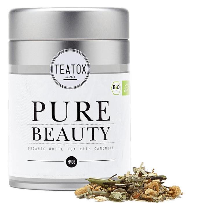 Teatox Pure Beauty Bio White Tea Camomile 60g