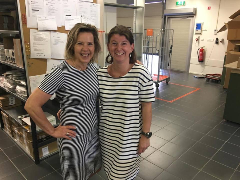 Marleen en Ingrid van webshop natuurlijke cosmetica SoloBioMooi.nl