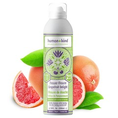 Human+Kind Shower Mousse Grapefruit Delight Vegan