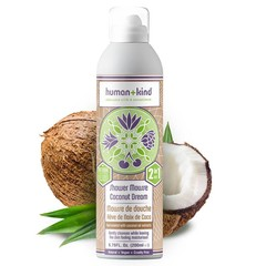Human + Kind Shower Mousse Coconut Dream Vegan