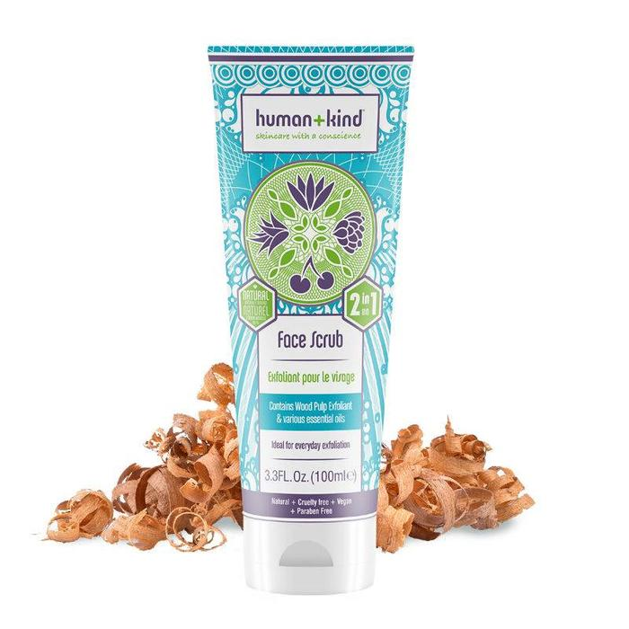 Human+Kind Face Scrub Vegan