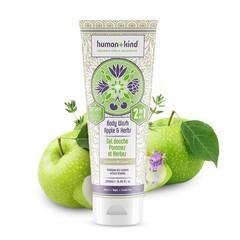 Human+Kind Shampoo Body Wash Apple Herbs Vegan All-in-one