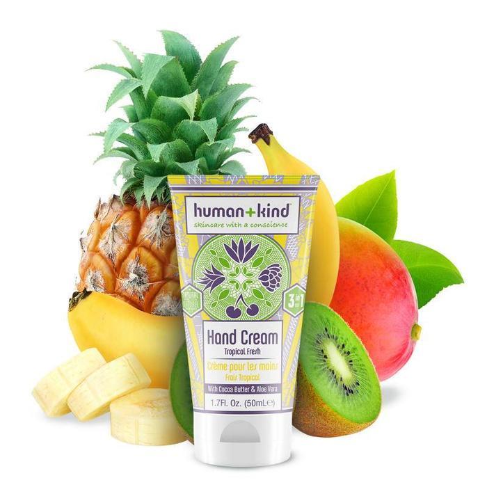 Human+Kind Hand Elleboog Voet Creme Vegan Tropical Fresh
