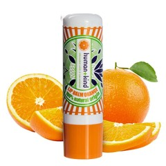 Human+Kind Natuurlijke Lip Balm Orange Vegan