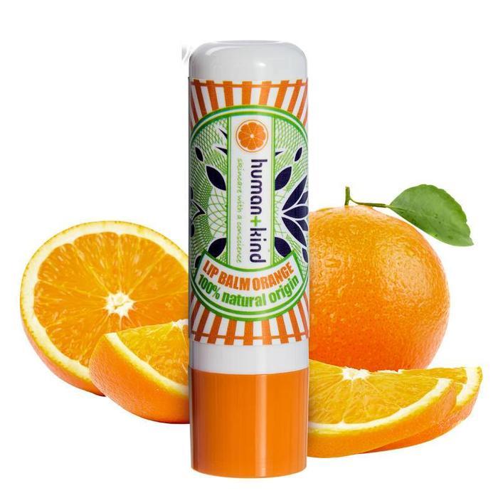 Human+Kind Natuurlijke Lip Balm Orange Vegan