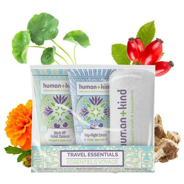 Human+Kind Reisverzorgingsset Vegan
