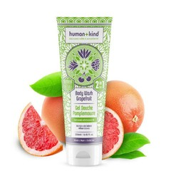 Human+Kind Shampoo Body Wash Grapefruit Vegan All-in-one