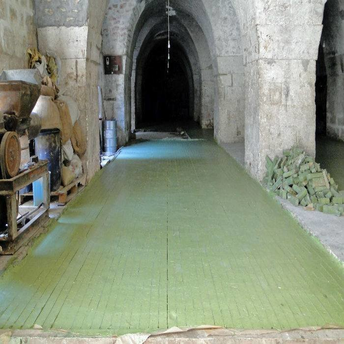Aleppo Najel Olijfzeep 12% Laurierbesolie 200g