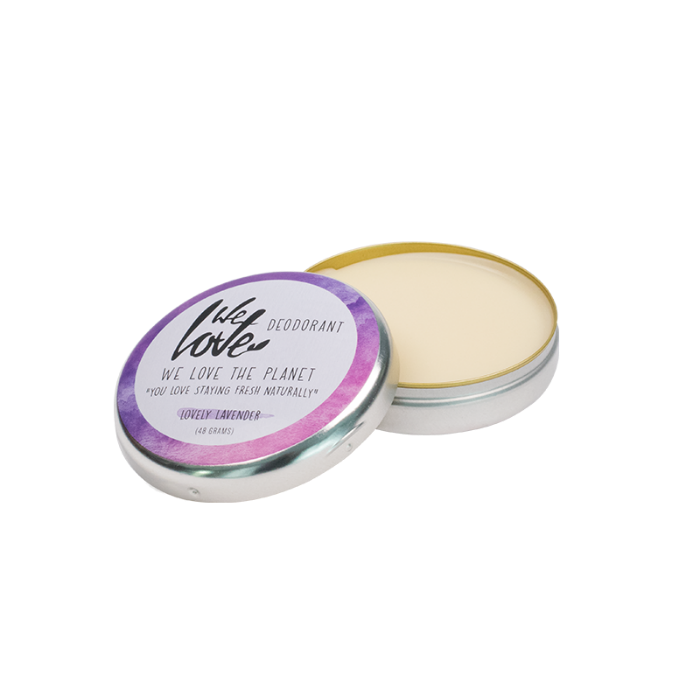 We Love The Planet Natuurlijke Deodorant Creme Lovely Lavender