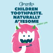Nordics Tandpasta Kids Bubble Gum 50ml