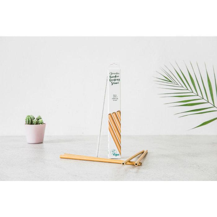 Nordics Bamboe Drinkrietjes