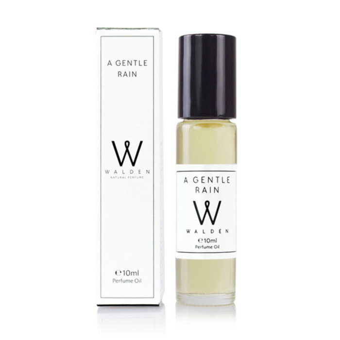 Walden Natural Perfume A Gentle Rain Oil Roll-on 10ml Unisex