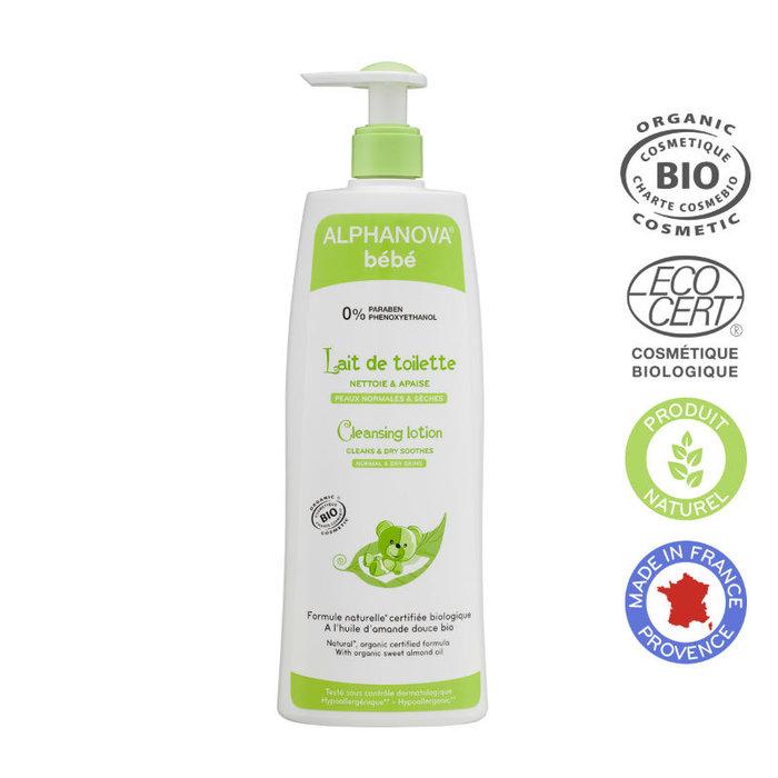 ALPHANOVA Bebe Organic Cleansing Lotion 500ml