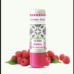 Human + Kind Natuurlijke Lip Balm Raspberry Vegan