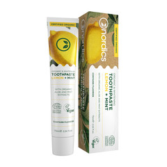 Nordics Tandpasta Lemon Mint BIO met fluriode