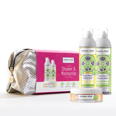 Human + Kind Toilettas Miracle VEGAN Moisturise set (2x Shower mousse + body souffle)