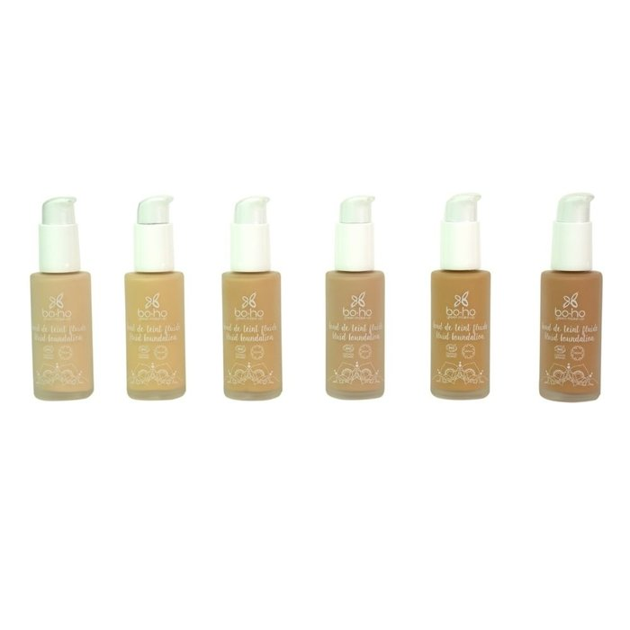 Boho Liquid Foundation 30ml 01 Porcelain