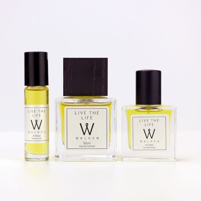 Walden Natural Perfume Live the Life 50ml  Unisex
