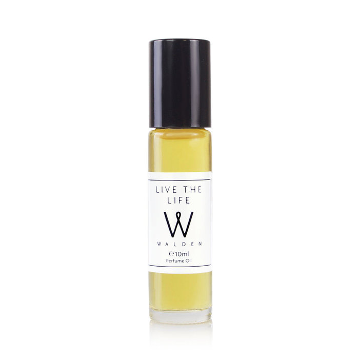 Walden Natural Perfume Live the Life Oil Roll-on 10ml Unisex