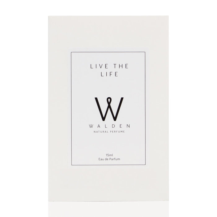 Walden Natural Perfume Live the Life Purse Spray Unisex 15ml
