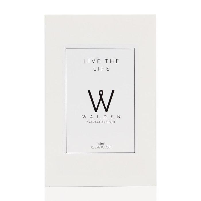 Walden Natural Perfume Live the Life Purse Spray Unisex 15ml