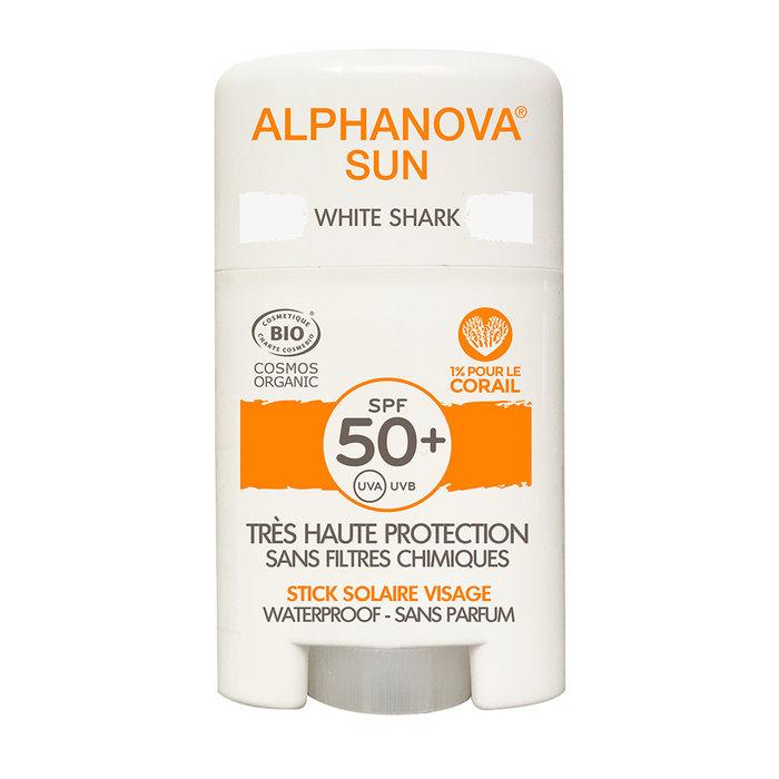 Alphanova SUN BIO SPF 50+ Face SUN STICK - white