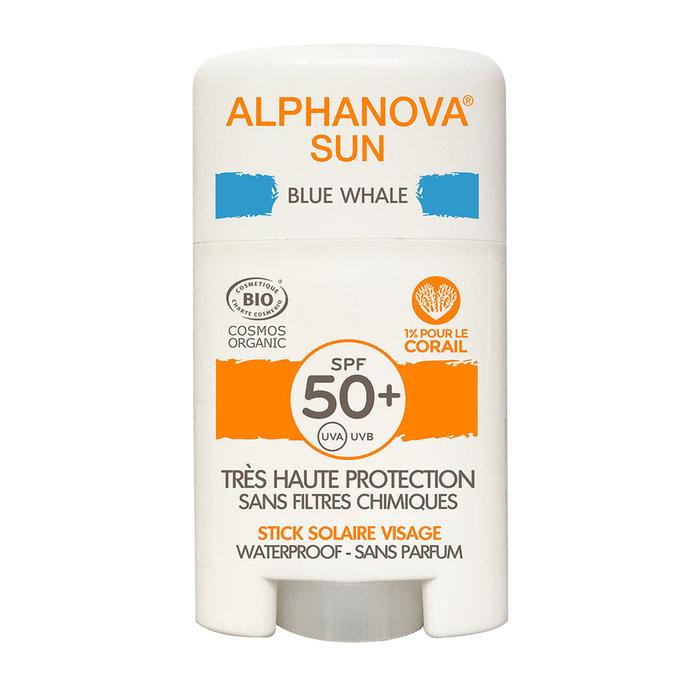 Alphanova SUN BIO SPF 50+ Face SUN STICK - blue