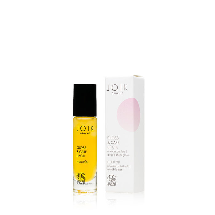 JOIK Organic Vegan Gloss & Care Lip Oil 10ml