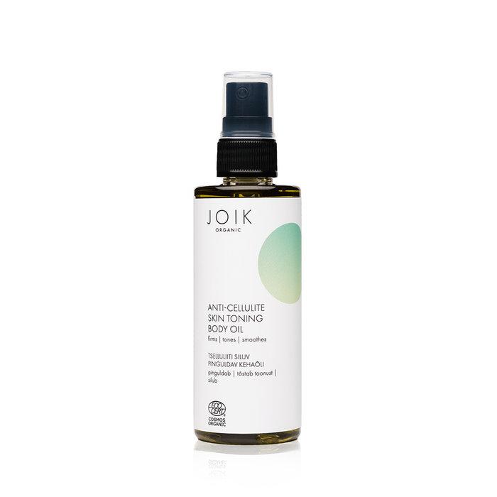 JOIK Organic Vegan Anti-Cellulite Skin Toning Body Oil 100ml