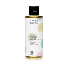 JOIK Organic Relaxing Lavender Bath & Body Oil 100ml