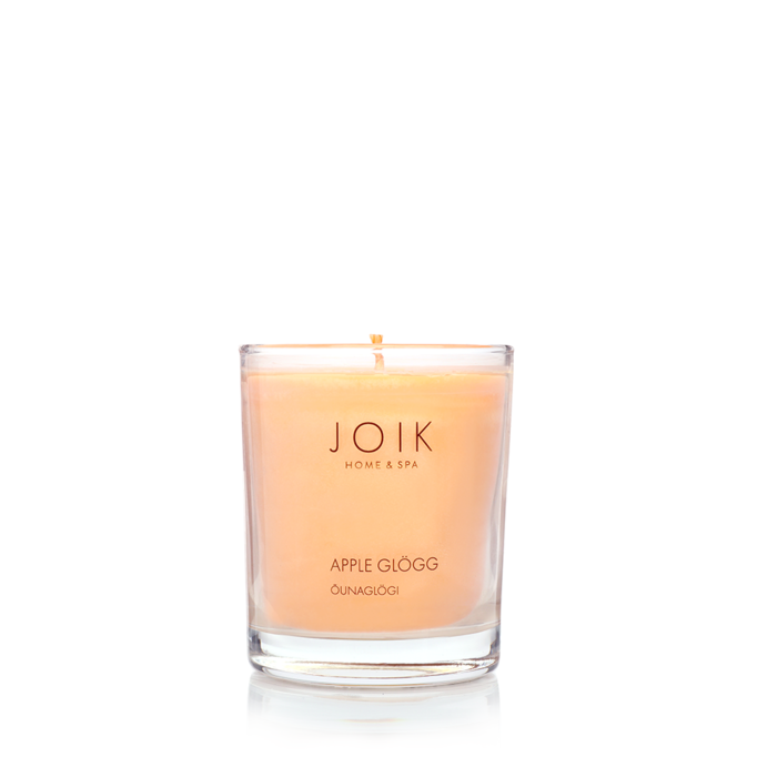 JOIK Vegan soywax scented candle Apple cider, 145 gr.
