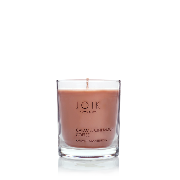 JOIK soywax scented candle Caramel & Cinnamon Coffee, 145 gr.