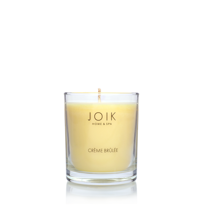 JOIK Vegan soywax scented candle Creme brulee, 145 gr.