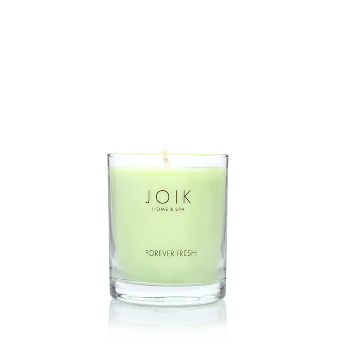 JOIK soywax scented candle Forever Fresh, 145 gr.