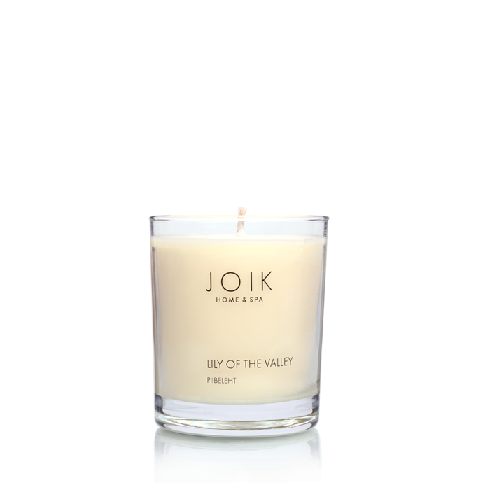 JOIK soywax scented candle Lily of the Valley, 145 gr.