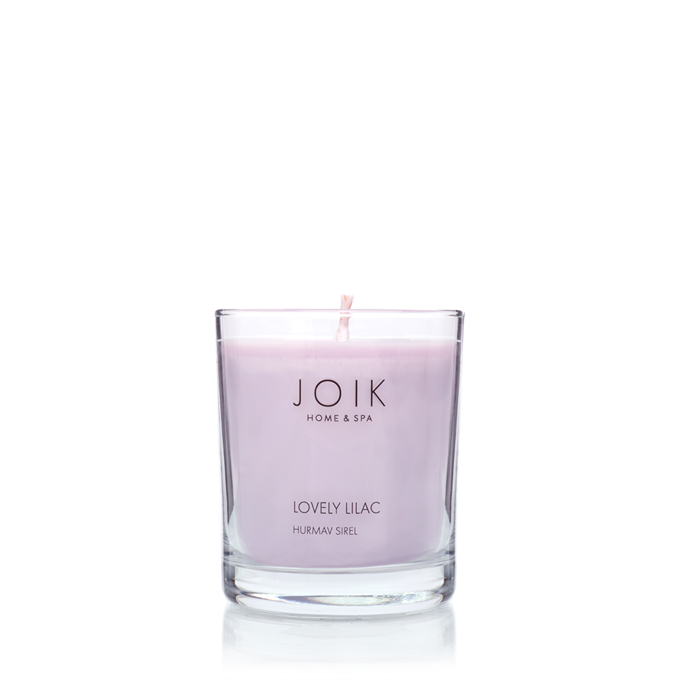 JOIK soywax scented candle Lovely Lilac, 145 gr.
