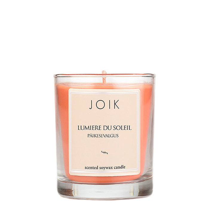 JOIK soywax scented candle Lumiere du Soleil, 145 gr.