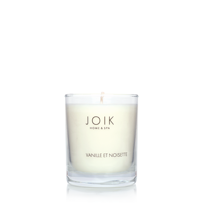 JOIK Vegan soywax scented candle Vanille et noisette, 145 gr.