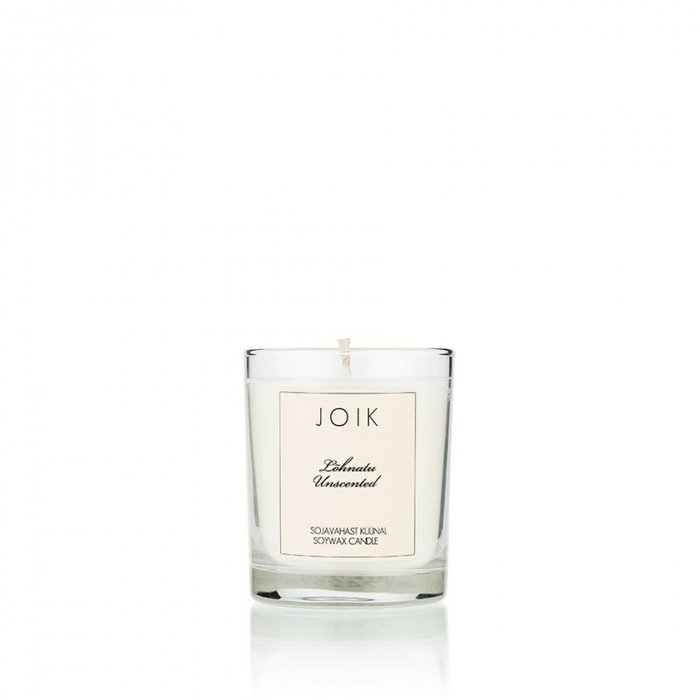 JOIK Vegan soywax candle unscented, 145 gr.