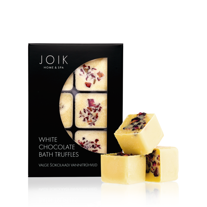 JOIK Vegan white chocolate bath truffles,  258 gr.