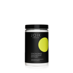 JOIK Vegan Toning and relaxing bathsalt with lemongrass essential oil and magnesium