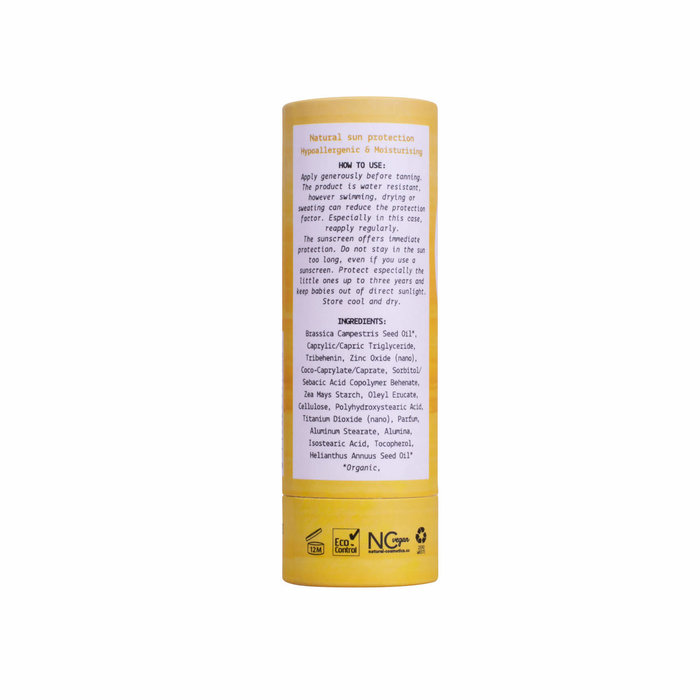 We Love The Planet Natural vegan sunscreen stick SPF30