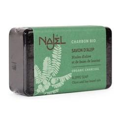 Aleppo Olijfzeep Najel olijfzeep met charcoal 100gr