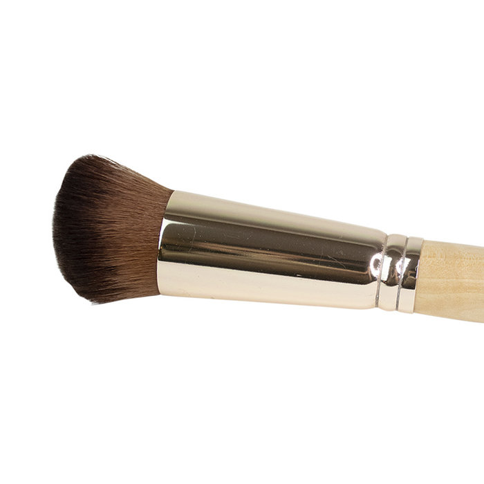 Boho Vegan Brush for Fluid Foundation 08